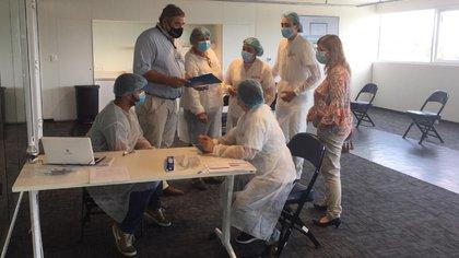 Puesta a punto de los vacunatorios en Montevideo (@MSPUruguay)