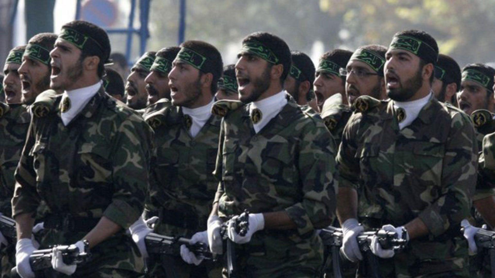 Miembros de la Guardia Revolucionaria de Irán