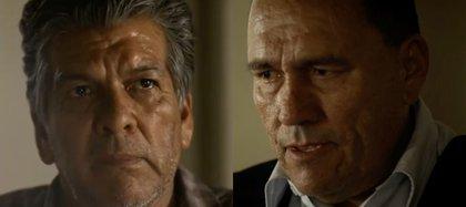 René López y Jorge Godoy (Foto: Captura de pantalla Amazon Prime)
