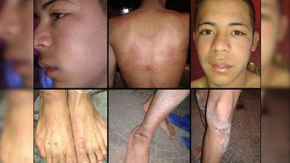 Los jóvenes que fueron torturados por los prefectos