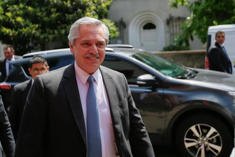 Alberto Fernández se encuentra en pleno armado de su gabinete (REUTERS/Mariana Grief)