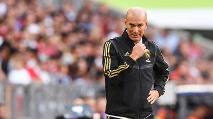 Zidane quiere a Mbappe en el Real Madrid