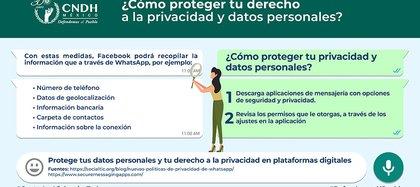 La CNDH emitió recomendaciones (Foto: CNDH)