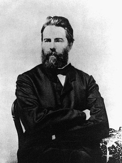 Herman Melville en 1861