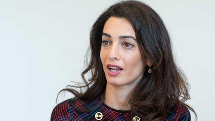 Amal Clooney (AFP)