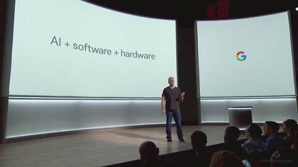 Osterloh destacó la importancia de integrar la mejor tecnología en inteligencia artificial, software y hardware.