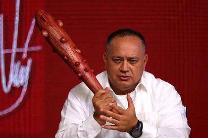 """Diosdado Cabello, en su programa """"Con el mazo dando"""""""