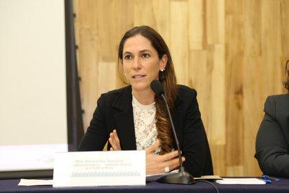 Mariana Boy, titular de la Procuraduría Ambiental y del Ordenamiento Territorial (Foto: Twitter/PAOTmx)