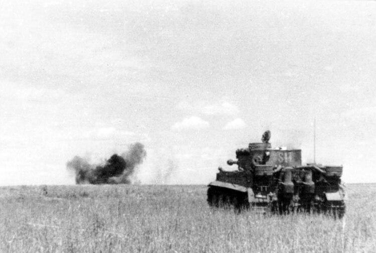 Un tanque Tiger, la avanzada tecnología con la que Hitler esperaba imponerse (Bundesarchiv)
