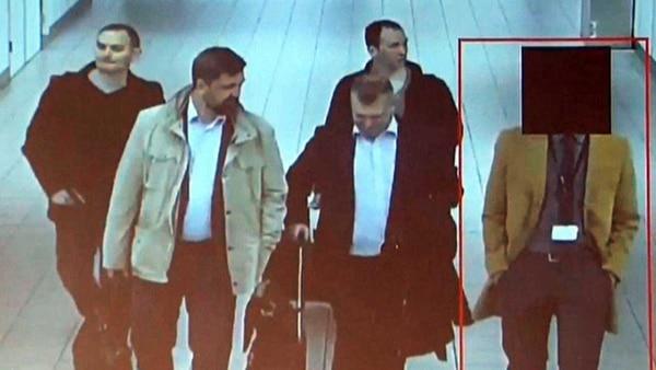 Los 4 agentes rusos habrían viajado a Holanda desde Moscú el 10 de abril