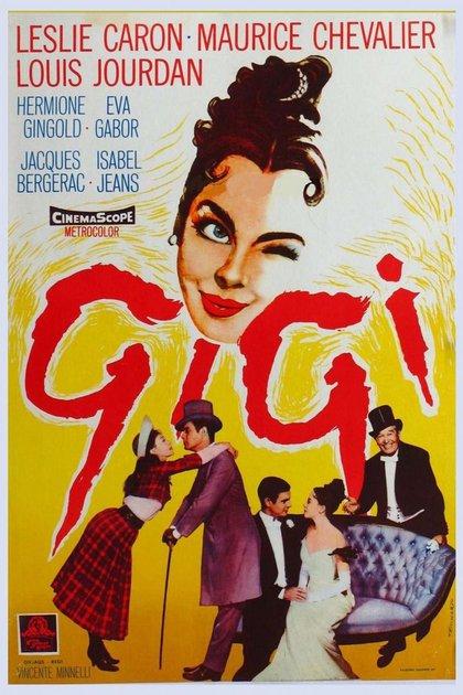 Vincent Minnelli, el padre de Liza, lleva al cine Gigi, novela de Colette pubicada en 1944