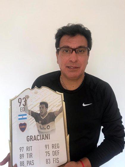 Dolor en Boca: murió Alfredo Graciani a los 56 años - Infobae