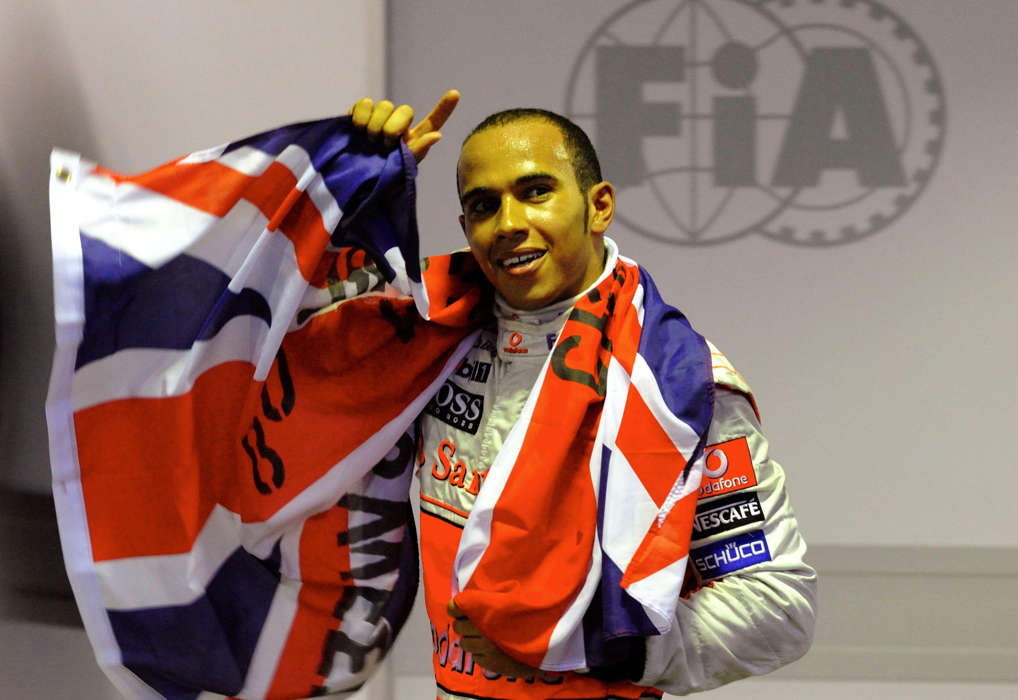 Hamilton inició su carrera en la Fórmula 1 compitiendo para McLaren (Foto: Reuters)