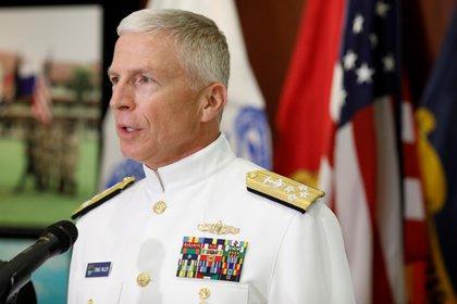 El comandante del Comando Sur de las Fuerzas Armadas de los Estados Unidos, Craig Faller (Reuters/ Marco Bello)