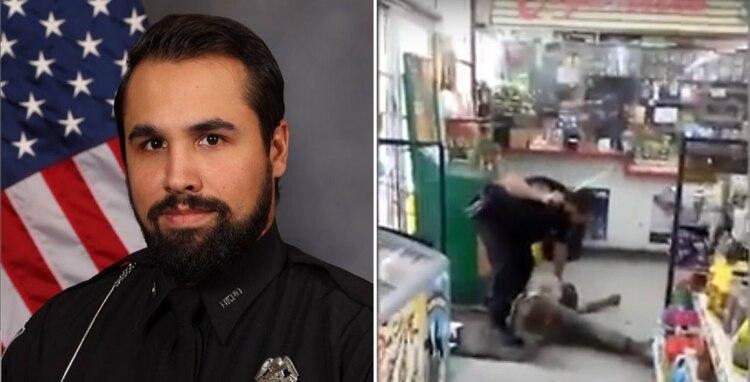 El oficial de Atlanta enfrentará cargos luego de darse a conocer las imágenes del incidente Foto: Departamento de policía de Dekalb / impresión de pantalla de video