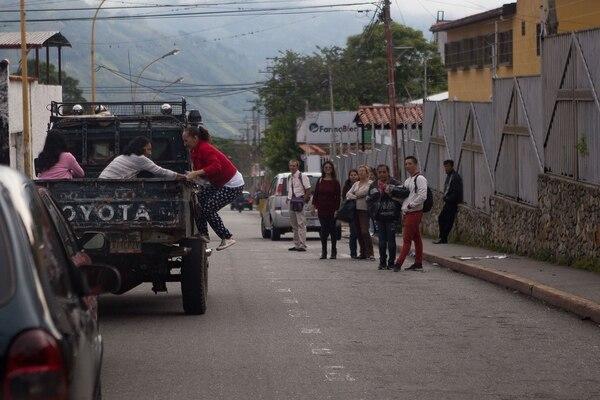 En los últimos meses se ha producido una migración masiva de venezolanos ante la profunda crisis que se vive en el país (Bloomberg / Manaure Quintero)