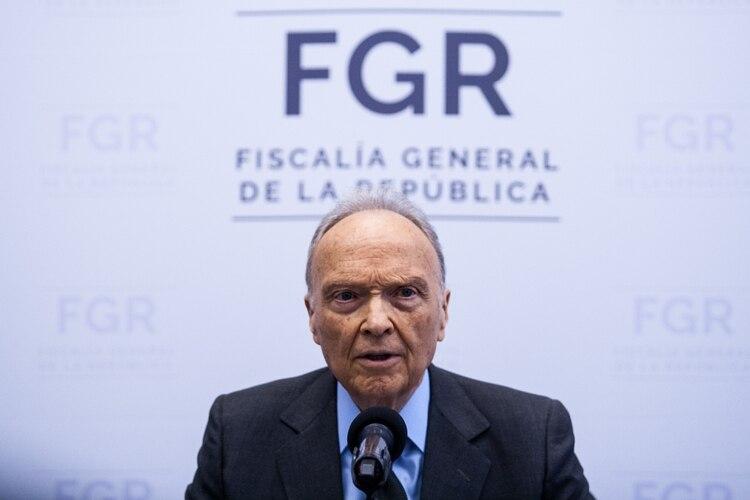 Alejandro Gertz Manero, fiscal general de la República Foto: Galo Cañas /Cuartoscuro