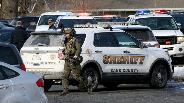 Policía de Aurora, Illinois (AP)