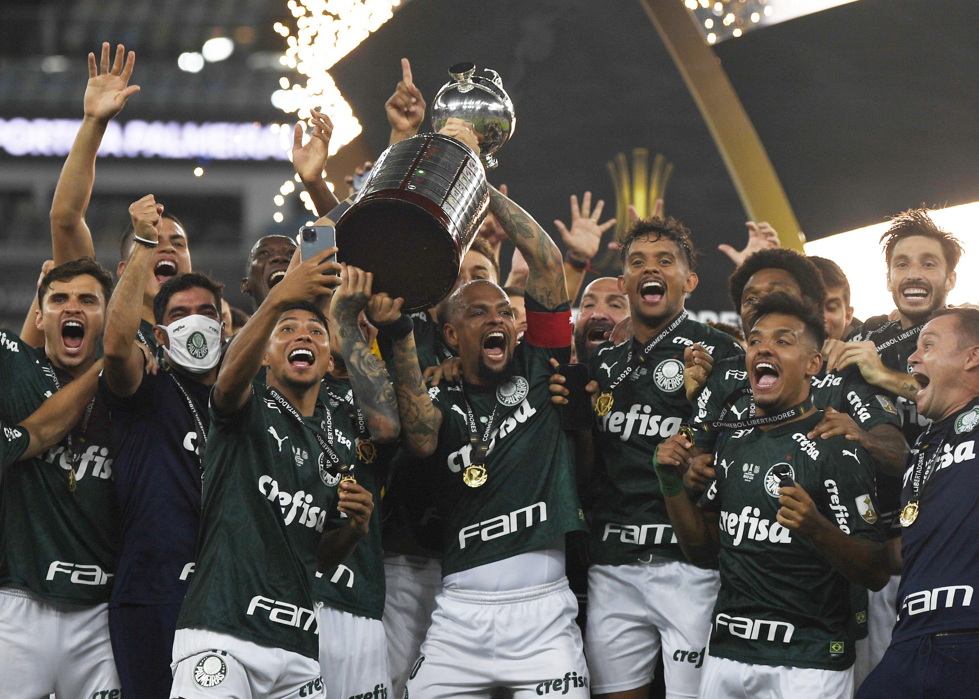 Palmeiras  es el campeón de la Copa Libertadores 2020 (Reuters)