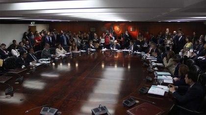 El Consejo de la Magistratura de la Nación reunido en plenario (Matías Baglietto)