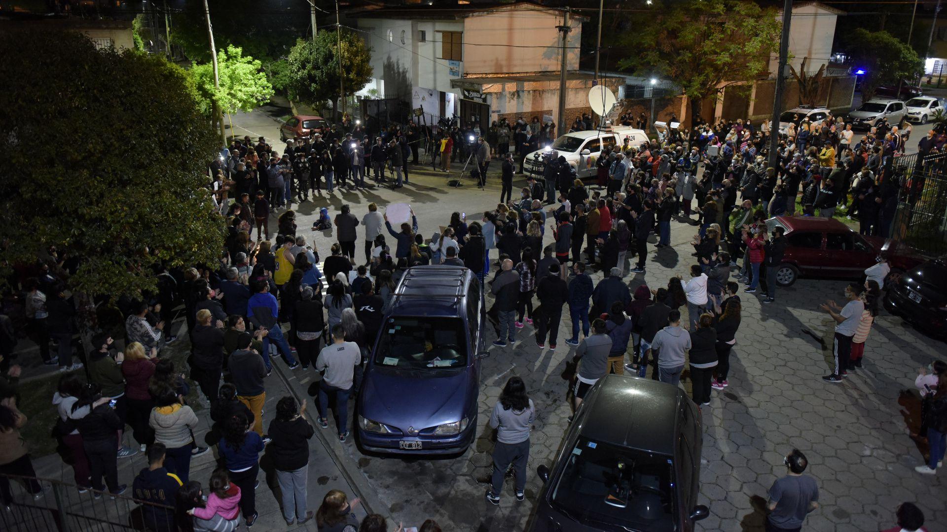 Manifestación Quilmes asesinato joven 17 años