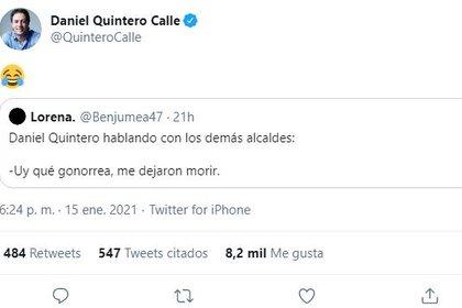 Quintero controversy on Twitter