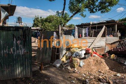 Pobreza extrema: el rancho donde vivió Miki antes del episodio (Guille Llamos)
