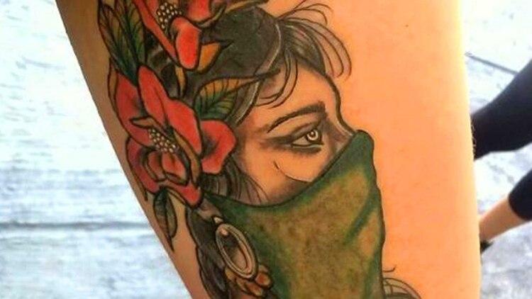 Piel Verde La Campana Por El Aborto Legal Llego A Los Tatuajes