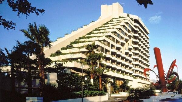 """El Hotel Grand Bay de Miami, lugar de alojamiento favorito del """"príncipe"""""""