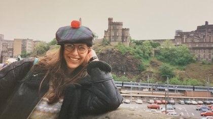 Valeria en Sheffield en 1995