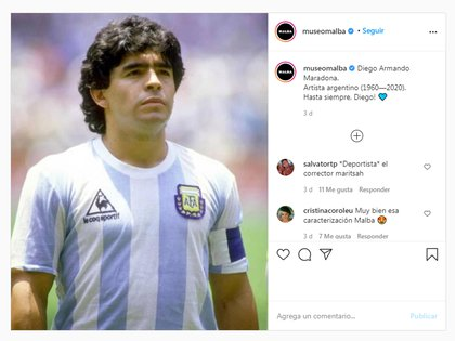 """""""Diego Armando Maradona, artista argentino"""""""