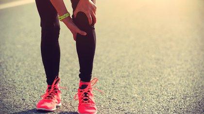 La lesión de rodilla es una de las más comunes en los corredores (Shutterstock)