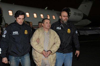 El Chapo Guzmán inició la relación con la mafia venezolana (Foto: vía Reuters)
