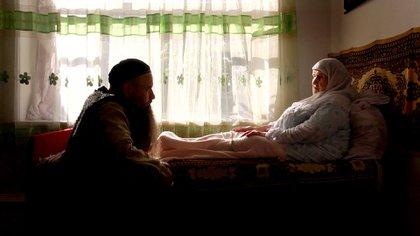 La familia chechena