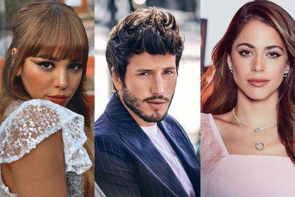 Los tres artistas se han visto envueltos en la polémica todo el año (Foto: Instagram@dannapaola/@tinistoessel/@sebastianyatra)