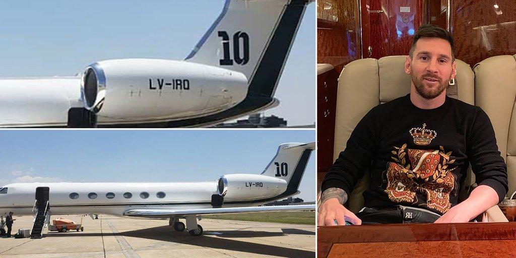Tiene asientos que se hacen cama, dos cocinas y está valuado en 15 millones de dólares: así es el avión privado que Messi puso a disposición de la selección - Infobae