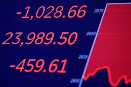 Las bolsas del mundo han tenido caídas históricas en las ultimas semanas