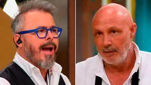 """Comenzó la revancha en Masterchef Celebrity y Donato De Santis se enojó con Mariano Della Libera: """"Está poniendo en duda nuestra capacidad como jueces"""""""
