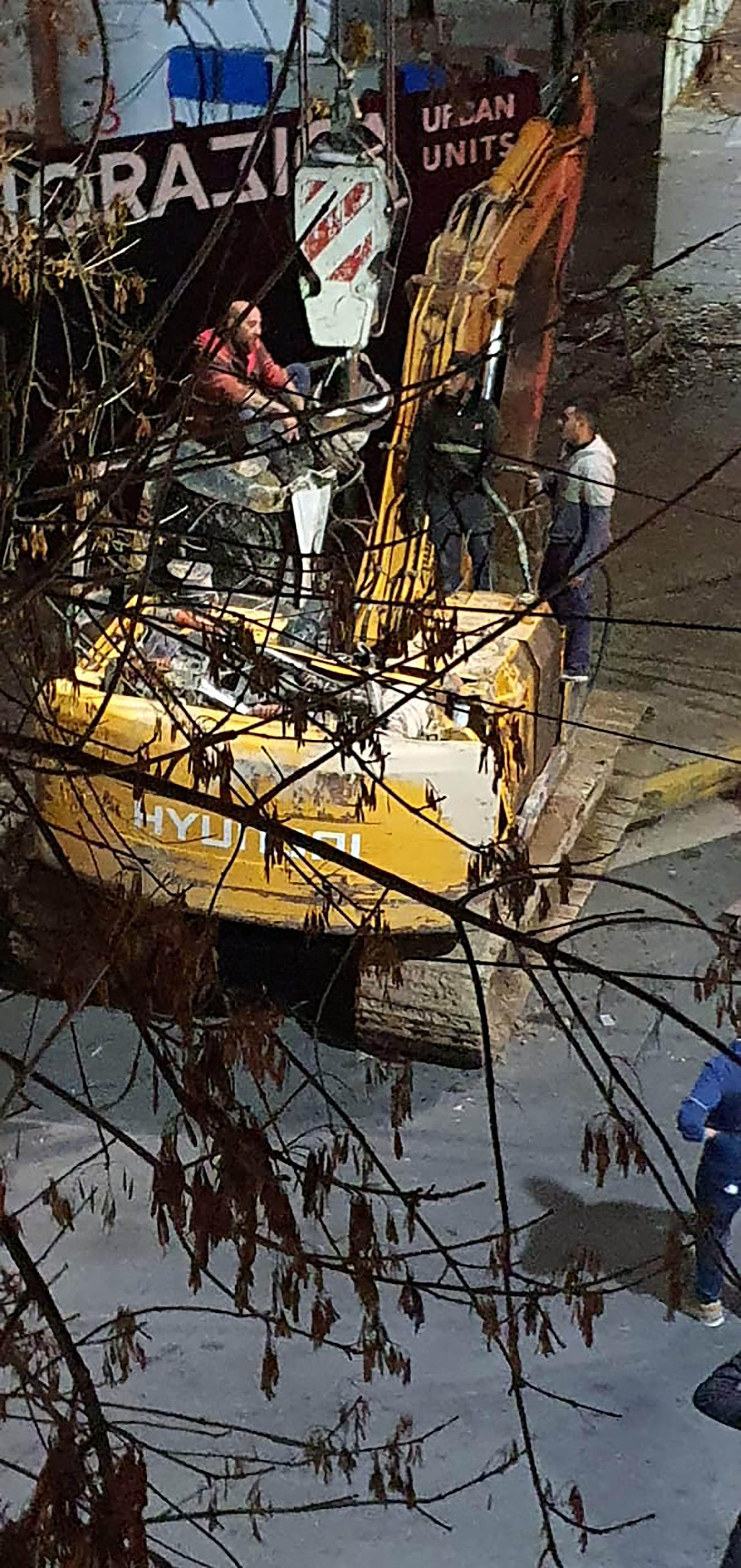 Accidente en una obra en construcción