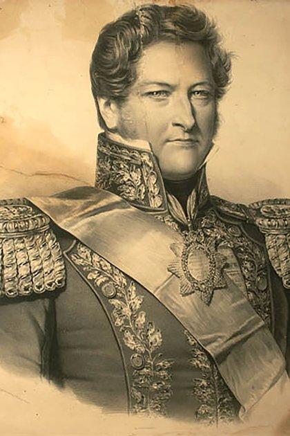 """En 1838 Alberdi se exilió en Uruguay y a través de sus notas periodísticas criticaba a Juan Manuel de Rosas. """"Me expatrié voluntariamente por no tolerar la tiranía"""""""