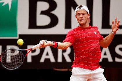 Schwartzman cerró su mejor participación en un Masters 1000 (Reuters)
