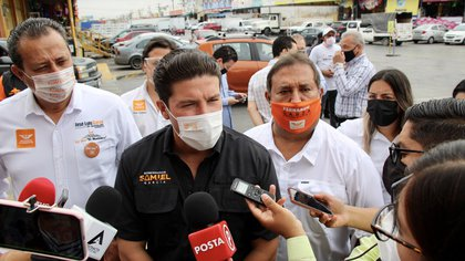 """""""No tengo padrinos"""": Samuel García negó tener el respaldo de AMLO en su campaña por NL"""