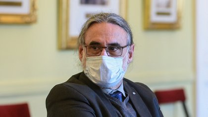 Luis Basterra, ministro de Agricultura (Presidencia)