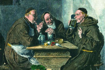 Los monjes franciscanos del siglo XVII fabricaban cerveza para pasar la cuaresma. Foto: Paulaner.