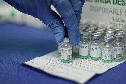 Dudas sobre la vacuna china en Emiratos Árabes Unidos por la baja tasa inmunitaria en algunas personas que ya recibieron las dos dosis necesarias (REUTERS/Leonardo Fernandez Viloria)
