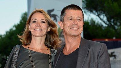 Emmanuel Carrere y Helene Devynck en Italia, 2015 (Agf/Shutterstock)
