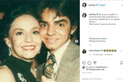 Eugenio Derbez ha mantenido una estrecha relación con la actriz Angélica María. (Foto: @ederbez/ Instagram)
