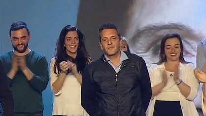 Sergio Massa, primer candidato a diputado por la provincia de Buenos Aires