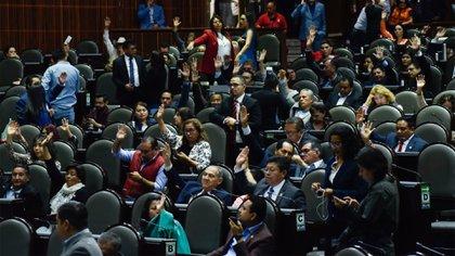 Durante la última sesión previo a la suspensión, los diputados nombraron a los integrantes de la eventual Comisión Permanente (Foto: Cuartoscuro)
