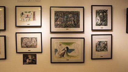"""""""Almuerzo sobre la hierba"""", una reinterpretación de la emblemática obra de Édouard Manet (Foto: Lihue Althabe)"""